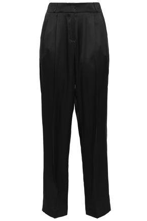 MAGDA BUTRYM Halle silk-satin tapered pants
