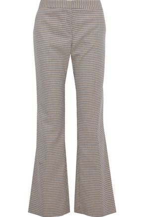 PRABAL GURUNG Houndstooth jacquard flared pants