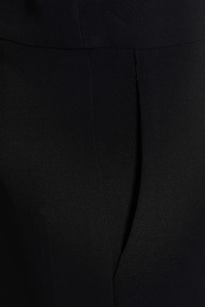 EMPORIO ARMANI Crepe slim-leg pants