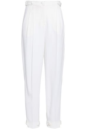 EMPORIO ARMANI Crepe tapered pants