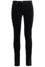 AG JEANS Cotton-blend velvet skinny pants