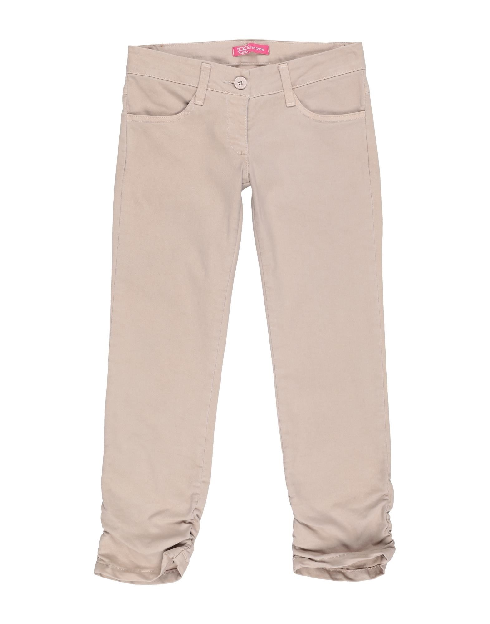 Sarah Chole Kids' Casual Pants In Neutrals