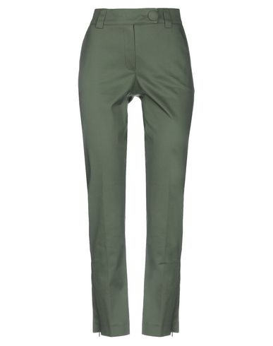 Фото - Повседневные брюки от STRETCH by PAULIE цвет зеленый-милитари