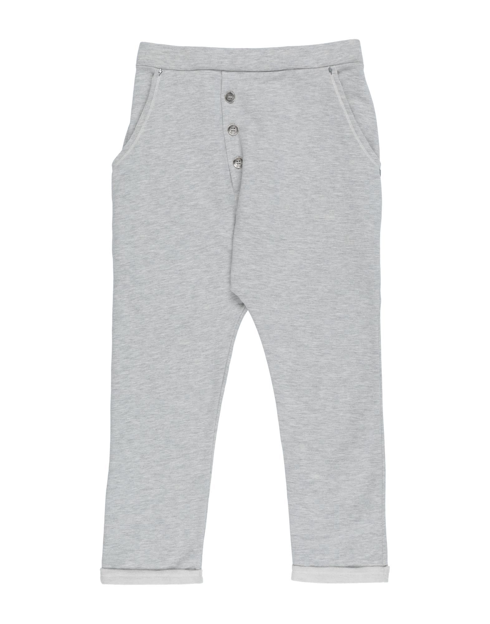 Mapero Kids' Casual Pants In Gray