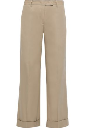 MACKINTOSH Cotton-twill straight-leg pants
