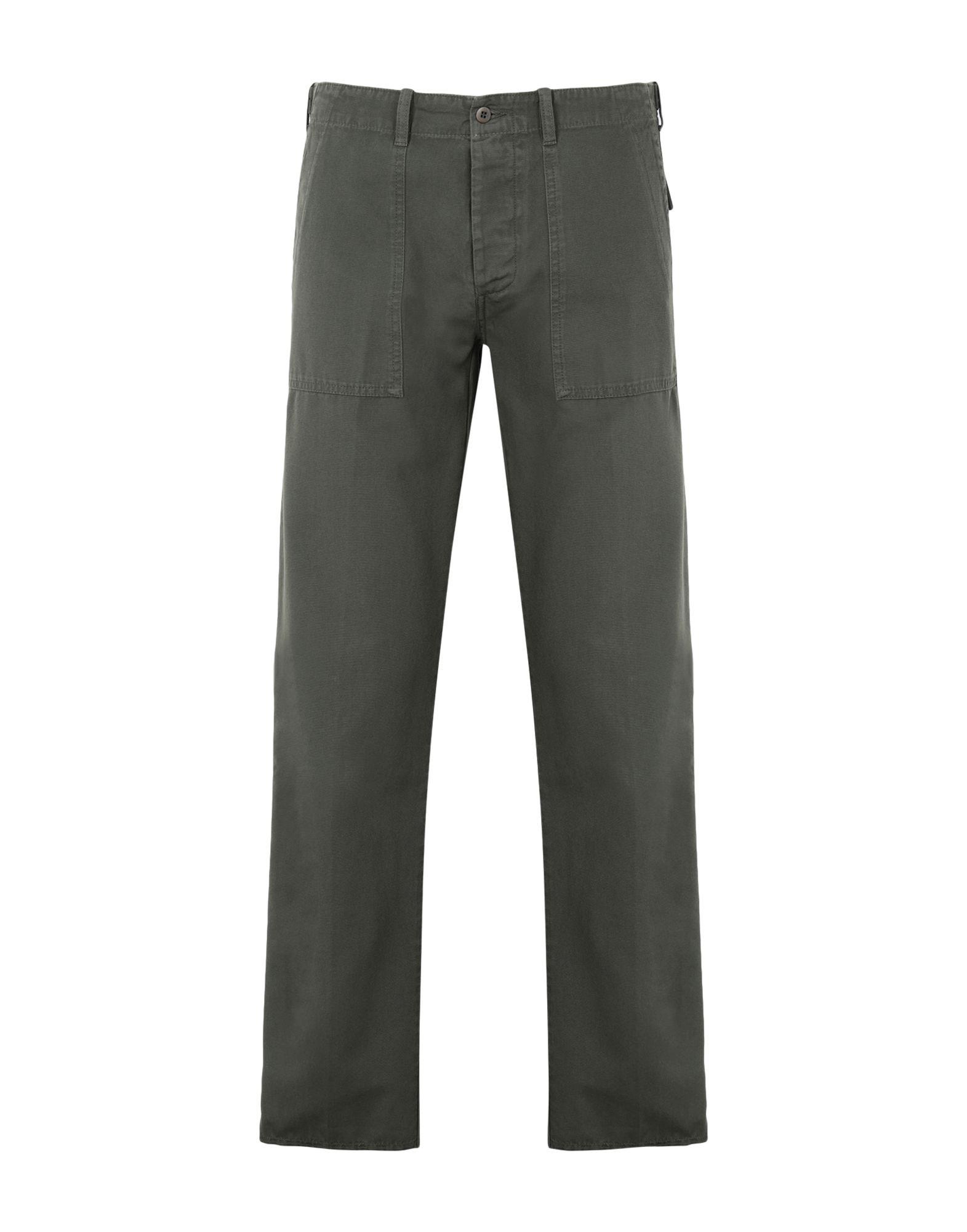《期間限定セール開催中!》DOPPIAA メンズ パンツ ミリタリーグリーン 46 コットン 100% AARTEMAS