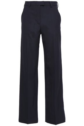 TORY BURCH Everette stretch-wool straight-leg pants