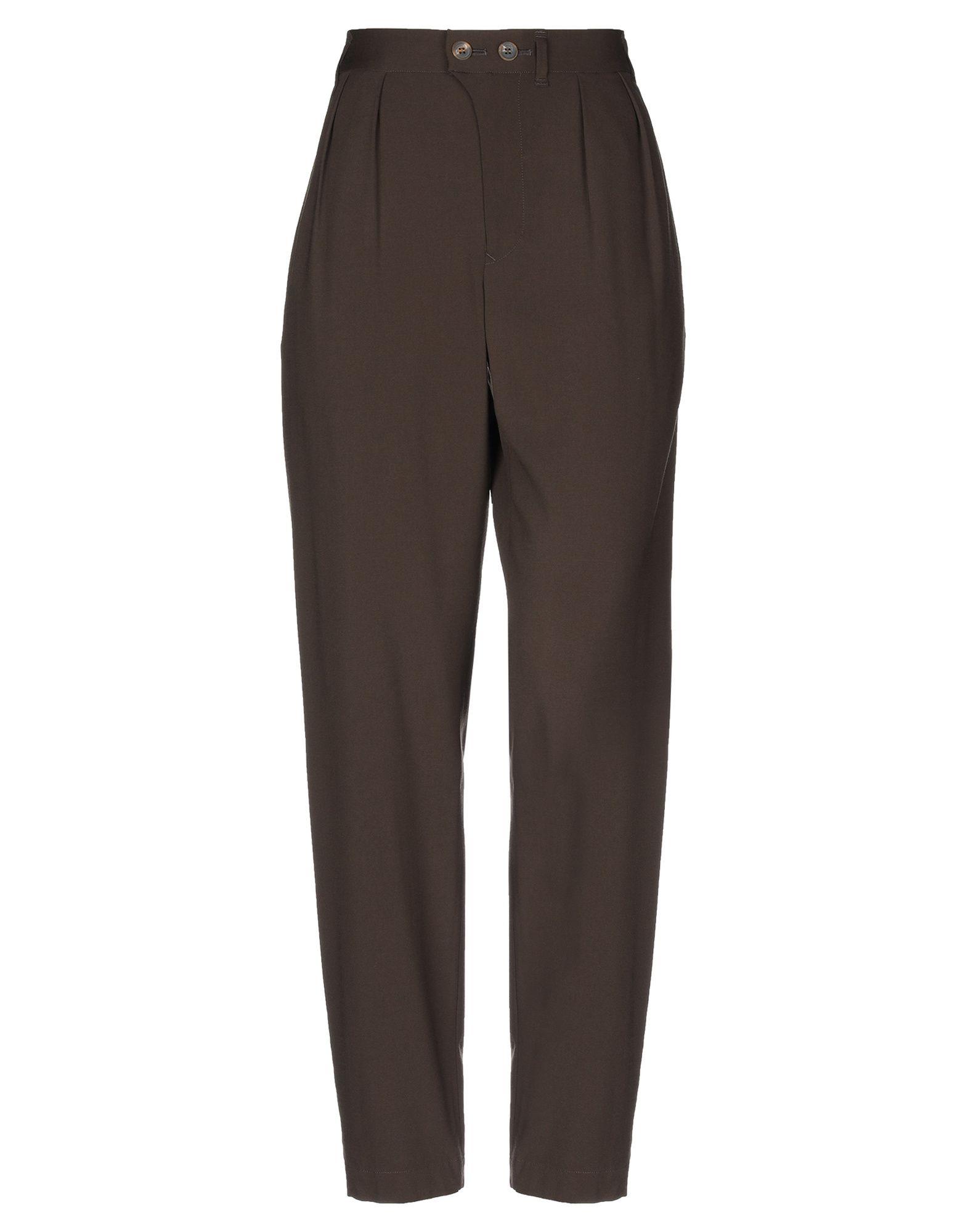 JULIEN DAVID Повседневные брюки цены онлайн