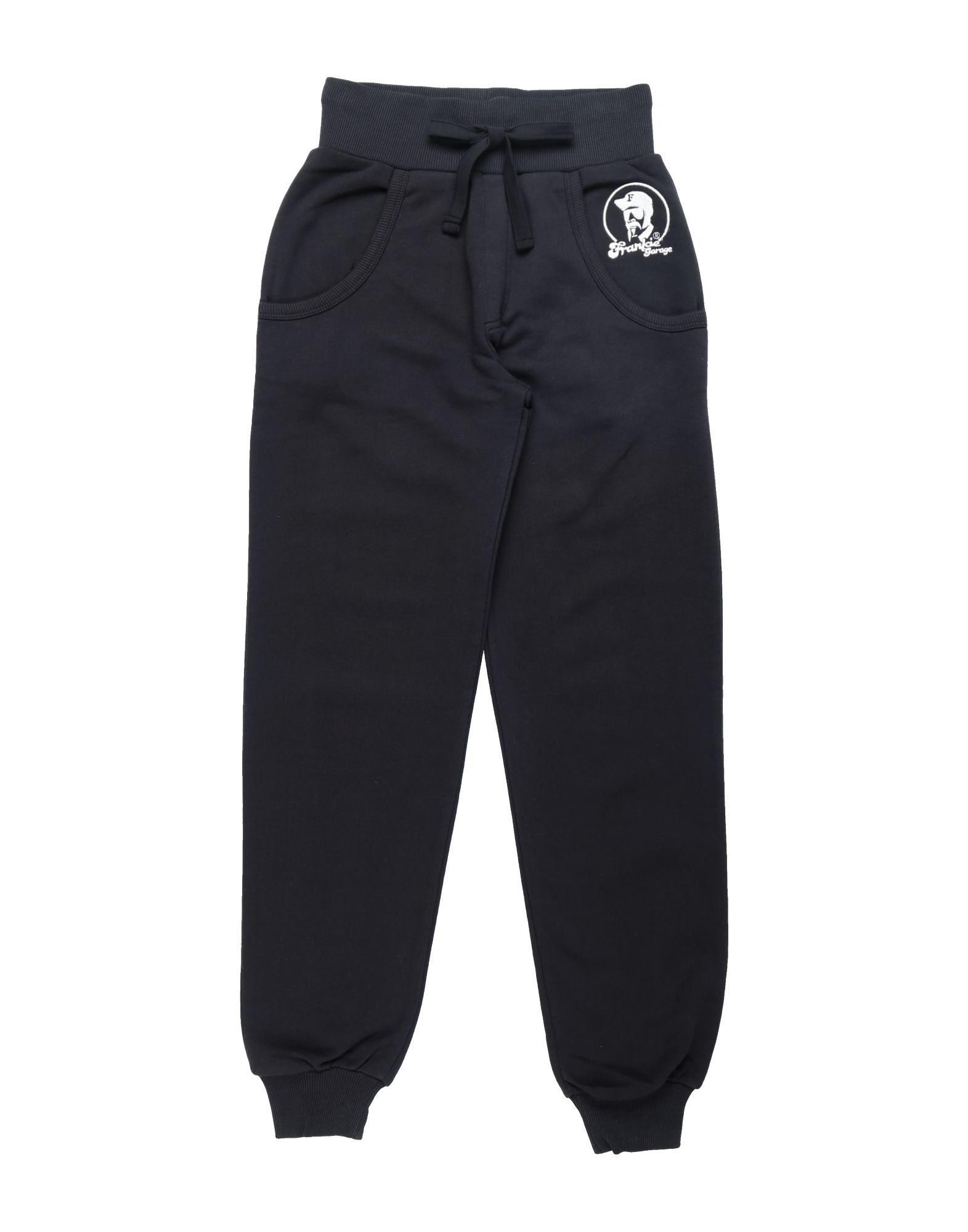 《セール開催中》FRANKIE GARAGE ガールズ 9-16 歳 パンツ ブラック 16 コットン 100%
