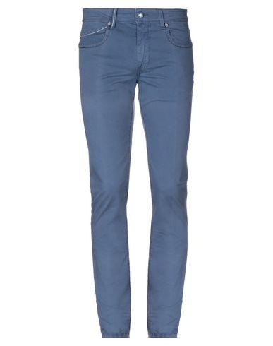 Фото - Повседневные брюки от RE-HASH грифельно-синего цвета
