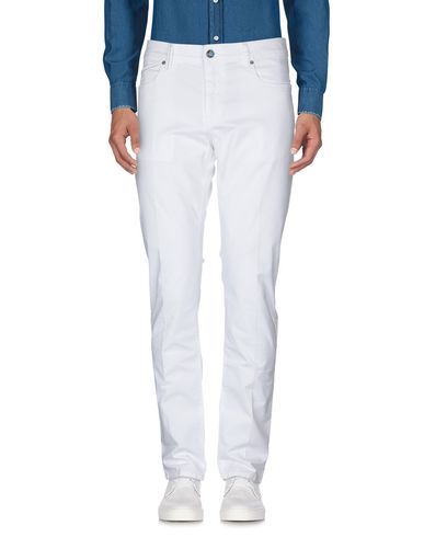Фото 2 - Повседневные брюки от RE-HASH белого цвета