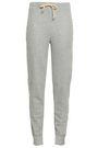 WILDFOX Crystal-embellished mélange cotton-blend track pants
