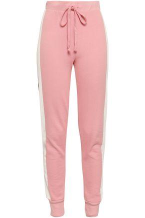 WILDFOX Cotton-blend track pants