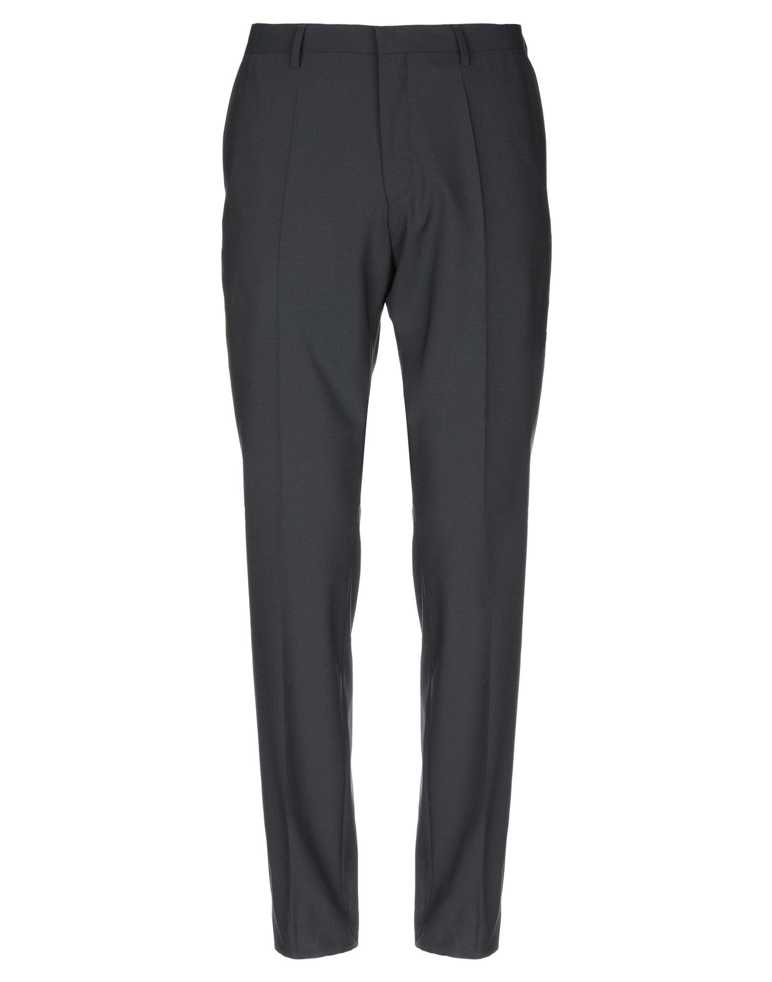 《セール開催中》ROY ROBSON メンズ パンツ ブラック 54 ポリエステル 54% / バージンウール 44% / ポリウレタン 2%