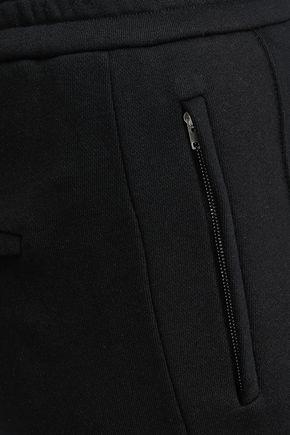 JOSEPH Zip-detailed cotton tapered pants