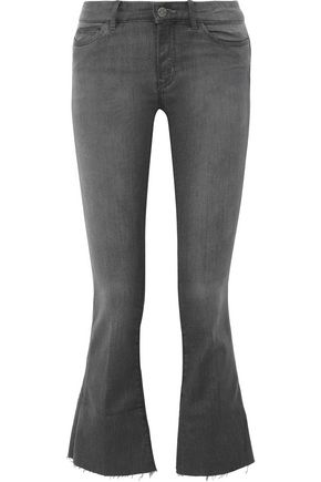 M.I.H JEANS Bodycon Marrakesh mid-rise kick-flare jeans