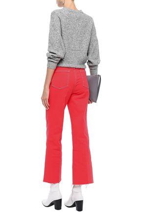 RAG & BONE Justine cropped high-rise straight-leg jeans