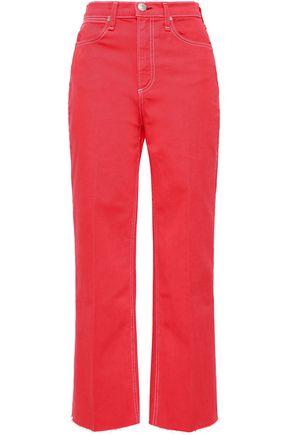 92d1948928 RAG & BONE Justine cropped high-rise straight-leg jeans