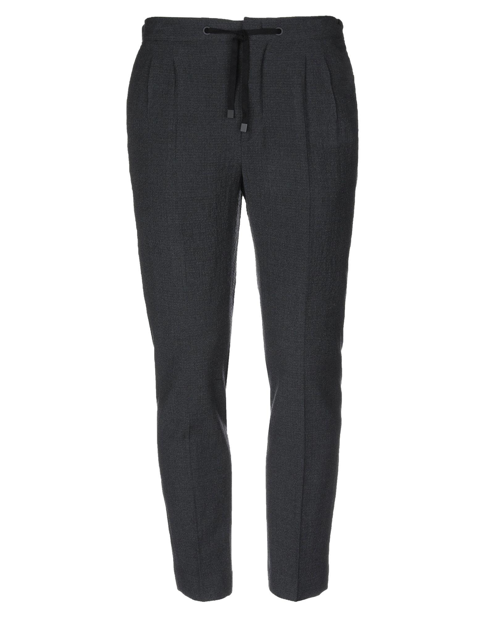 《セール開催中》BE ABLE メンズ パンツ スチールグレー 32 ウール 100%