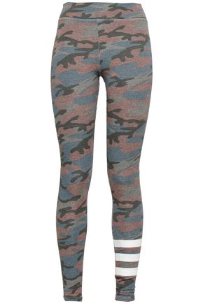 SUNDRY Printed French terry leggings