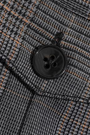 DEREK LAM 10 CROSBY ジャカード ブーツカット パンツ