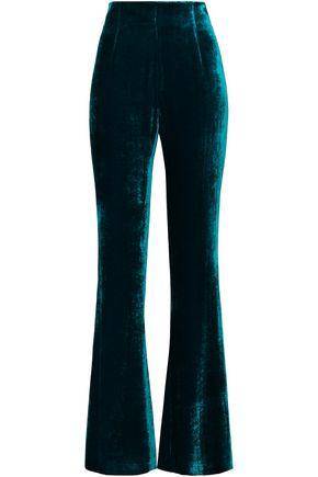 GALVAN  London Velvet flared pants