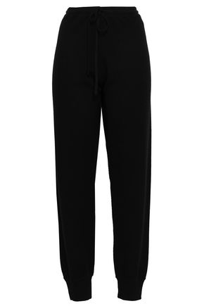 THEORY Mélange cashmere track pants