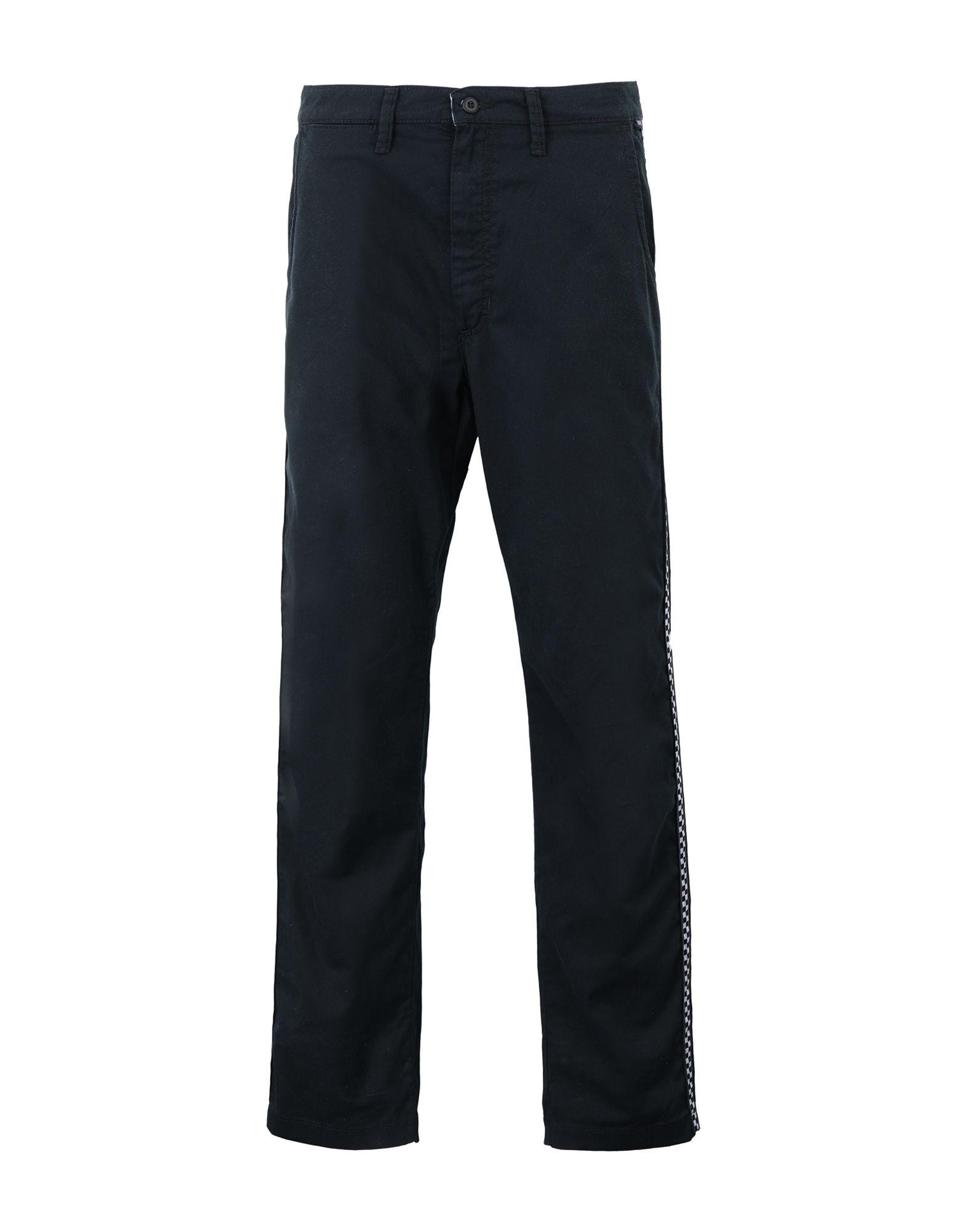 《セール開催中》VANS メンズ パンツ ブラック 29 ポリエステル 64% / コットン 34% / ポリウレタン 2% MN AUTHENTIC CHINO PRO TAPED