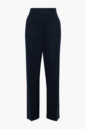 JOSEPH Haim stretch-wool flannel straight-leg pants