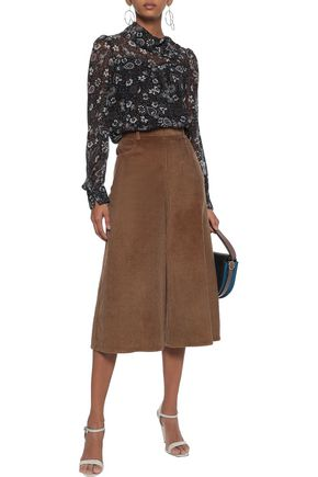 SEE BY CHLOÉ Cotton-blend corduroy culottes