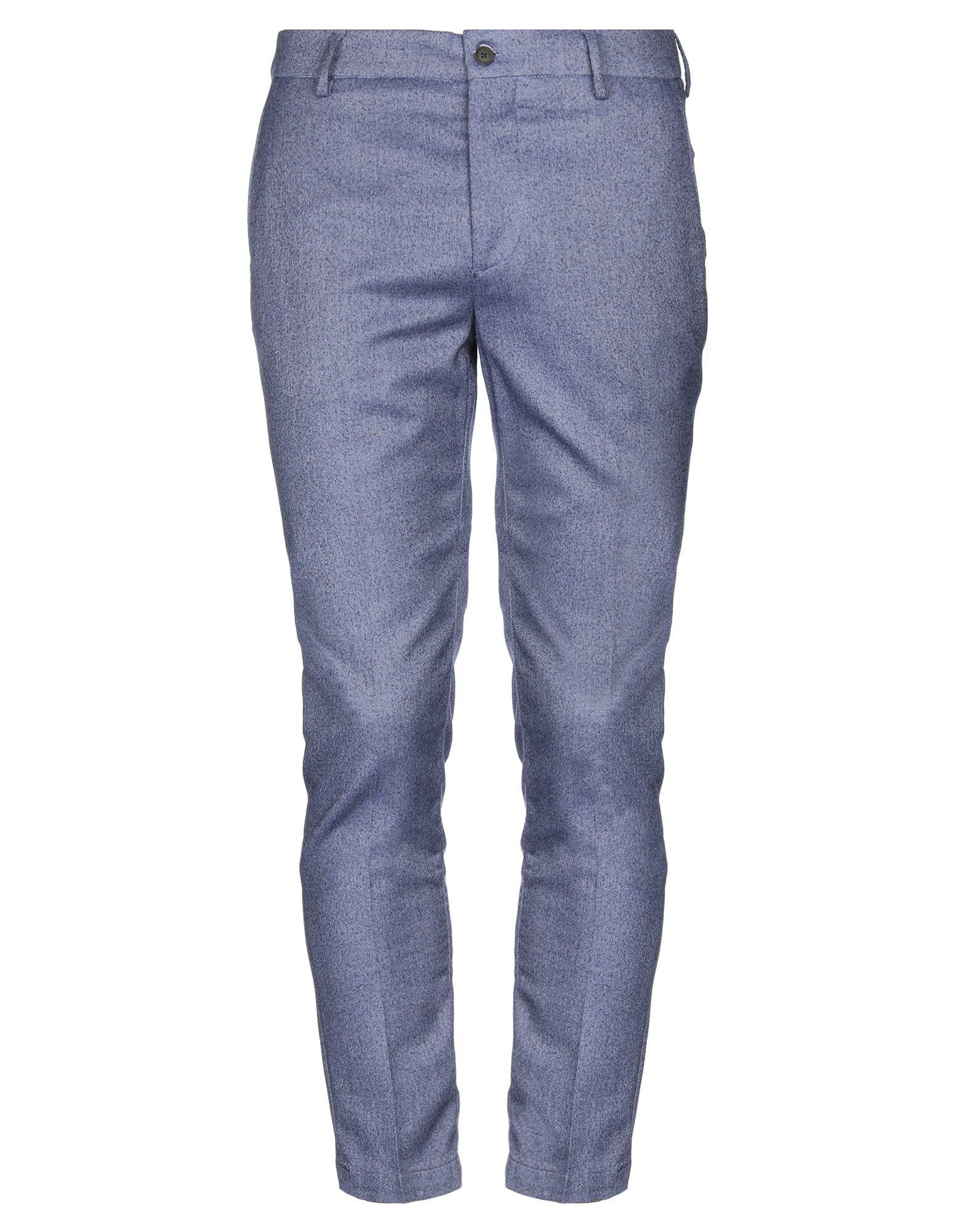 《セール開催中》BE ABLE メンズ パンツ ブルーグレー 32 ウール 100%