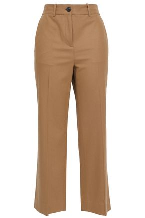 RAG & BONE Libby mélange wool-blend straight-leg pants