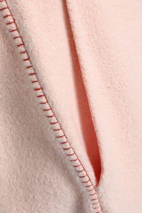 RAG & BONE Embroidered fleece track pants