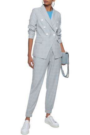 W118 by WALTER BAKER Sophia checked woven tapered pants