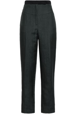AMANDA WAKELEY Shantung tapered pants