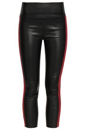 SPRWMN Cropped leather leggings