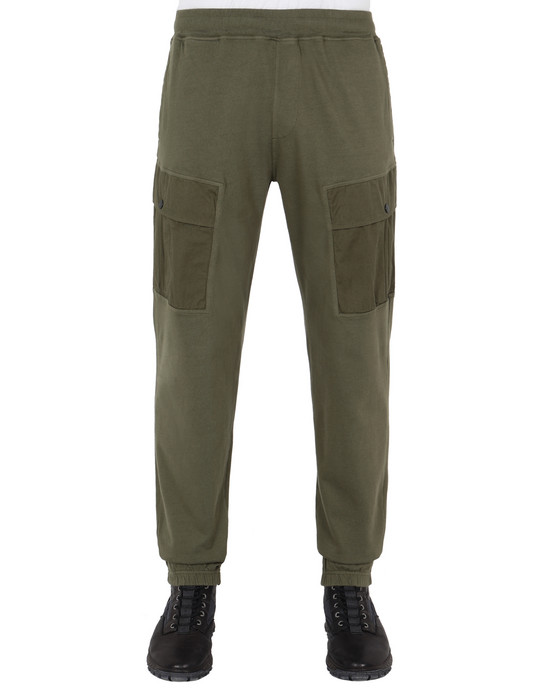 STONE ISLAND Fleece Trousers 64450