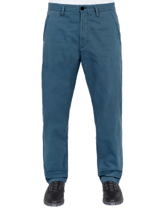 STONE ISLAND 30110 Pants Man Avio Blue
