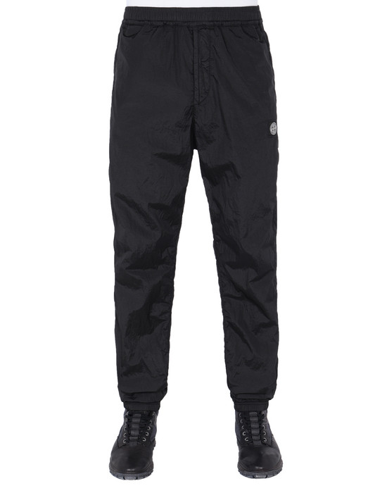 STONE ISLAND Fleece Trousers 63136 NYLON METAL RIPSTOP-TC