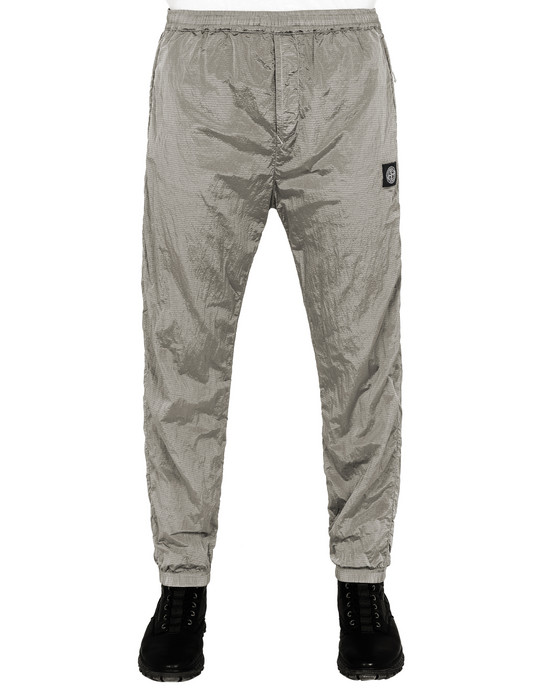 STONE ISLAND 63136 NYLON METAL RIPSTOP-TC  Fleece Trousers Man