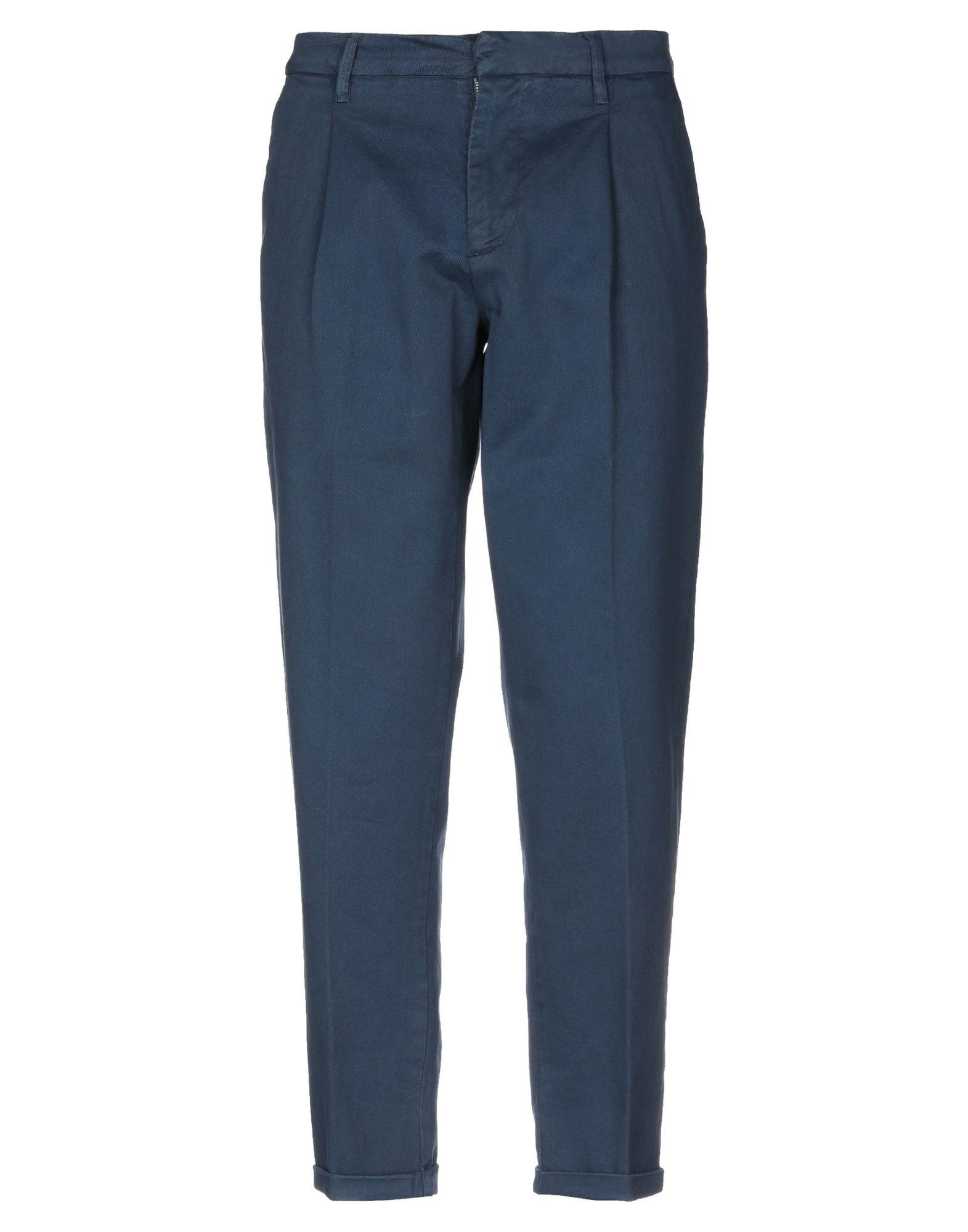 《期間限定セール中》LABORATORI ITALIANI メンズ パンツ ダークブルー 46 コットン 98% / ポリウレタン 2%