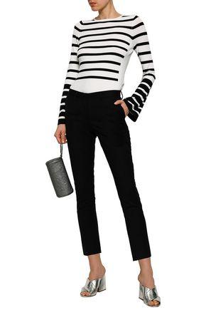 MACKINTOSH Cropped stretch-wool slim-leg pants
