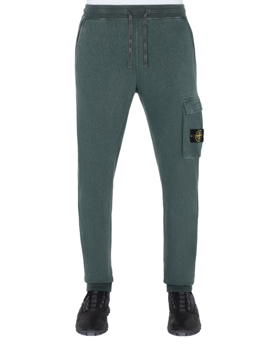 Fleece Trousers 65361 'OLD' DYE TREATMENT  STONE ISLAND - 0