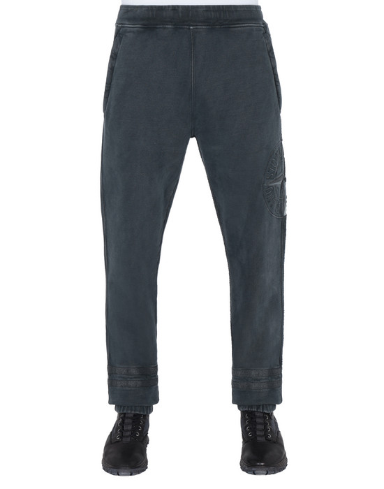 STONE ISLAND Fleece Pants 63547 'OLD' DYE TREATMENT