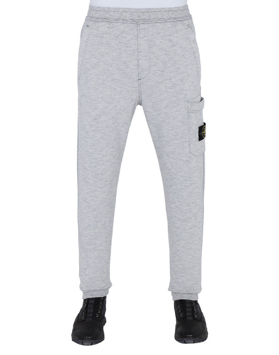 STONE ISLAND Fleece Trousers 64337