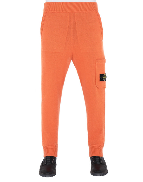 STONE ISLAND 558A7 KNIT TROUSERS Man