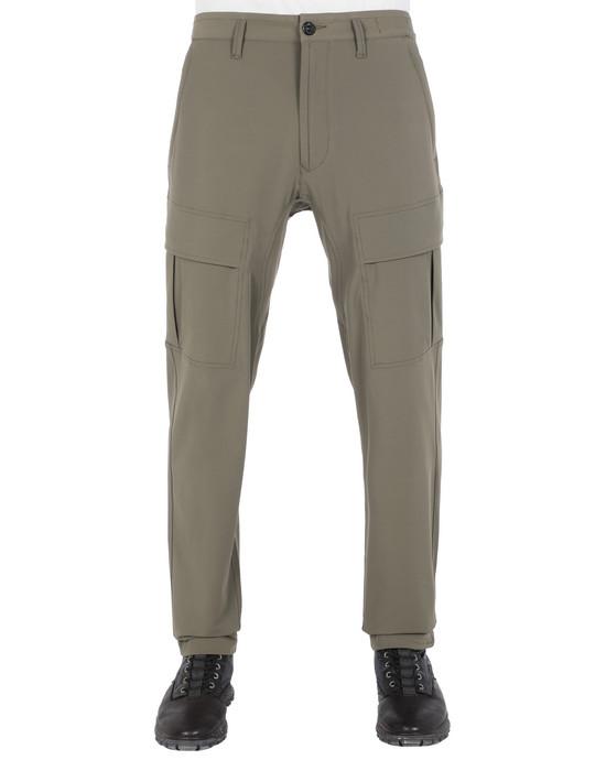 STONE ISLAND 30208 Pants Man Olive Green