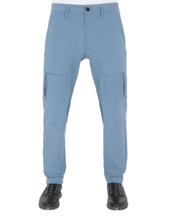 STONE ISLAND 30208 Pants Man Avio Blue