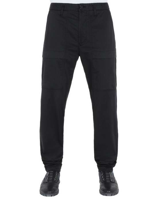STONE ISLAND 30314 Pants Man Black