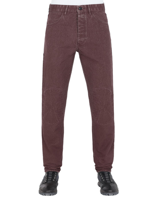STONE ISLAND J03J1 PANAMA PLACCATO RE-T PANTS - 5 POCKETS Man
